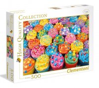 Hugh Quality Collection - Colorful Cupcakes, 500 db