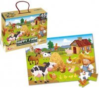 Happy Farm JUMBO puzzle, 48 db